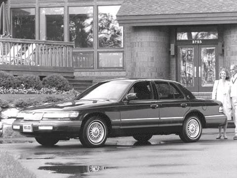 1992 Mercury Grand Marquis Pricing Ratings Reviews Kelley