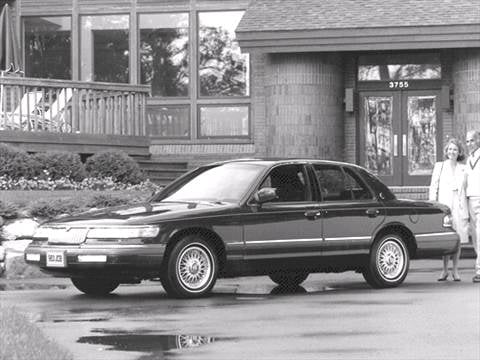 1992 mercury grand marquis Exterior