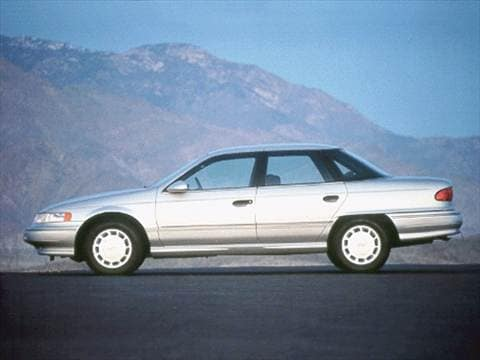 1992 mercury sable Exterior