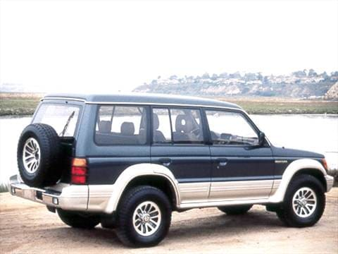1992 mitsubishi montero sr sport utility 4d pictures and. Black Bedroom Furniture Sets. Home Design Ideas