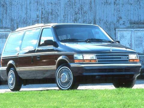 1992 plymouth grand voyager Exterior