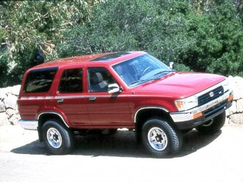 Toyota Tacoma Off Road >> 1992 Toyota 4Runner | Pricing, Ratings & Reviews | Kelley Blue Book