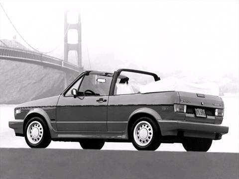 1992 Volkswagen Cabriolet | Pricing, Ratings & Reviews | Kelley Blue