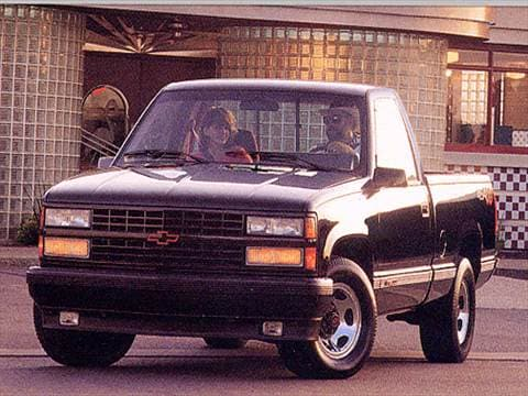 1993 chevrolet 1500 regular cab Exterior