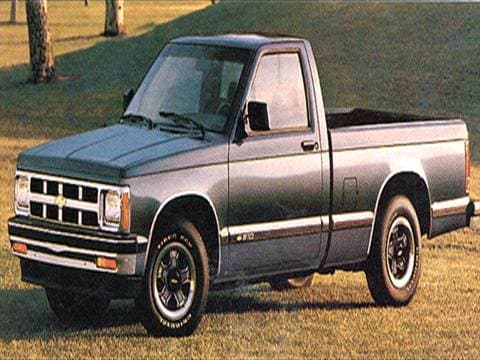 1993 Chevrolet S10 Regular Cab Pricing Ratings Reviews Kelley