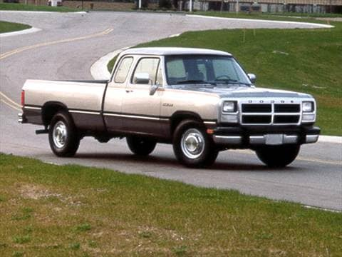 1993 dodge d150 club cab Exterior