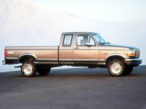 1993 Ford F150 Super Cab Short Bed  photo