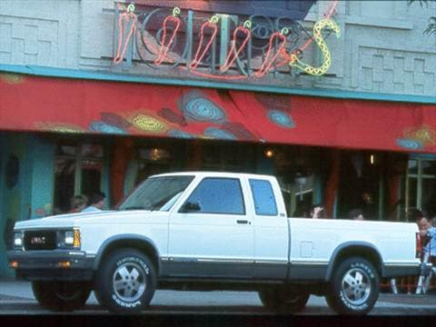 1993 gmc sonoma club coupe cab