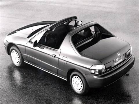 1993 Honda Del Sol Pricing Ratings Reviews Kelley Blue Book