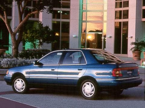 1993 Hyundai Elantra Pricing Ratings Amp Reviews Kelley