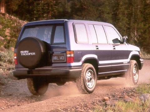 1993 isuzu trooper Exterior