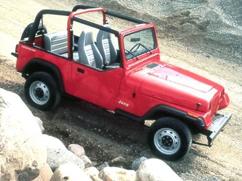 1993 Jeep Wrangler S Sport Utility  photo