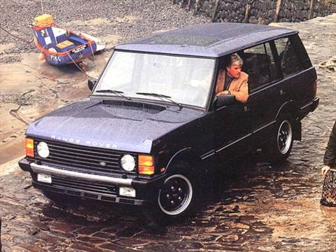 1993 Land Rover Range Rover County Sport Utility 4D  photo