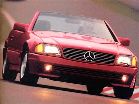 1993 mercedes benz 300 sl
