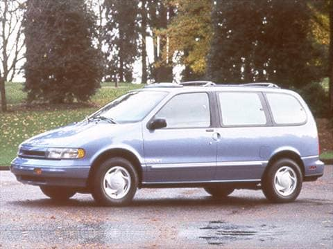 1993 Nissan Quest XE Minivan  photo