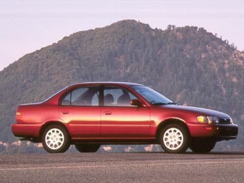 2014 Toyota Corolla For Sale >> 1993 Toyota Corolla | Pricing, Ratings & Reviews | Kelley Blue Book