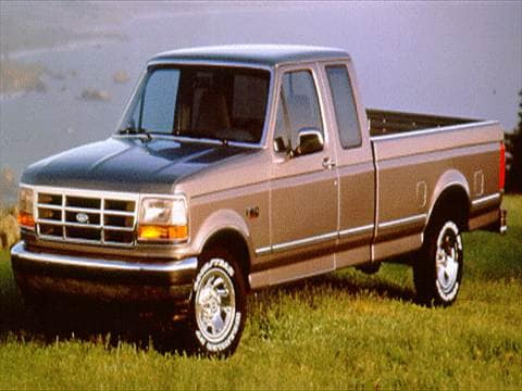 1994 ford f350 super cab Exterior