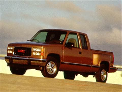 1994 gmc 3500 club coupe Exterior