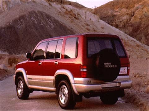1994 isuzu trooper Exterior