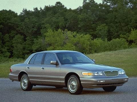 1994 mercury grand marquis Exterior