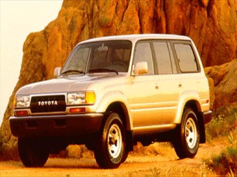 1994 Toyota Land Cruiser Sport Utility 4D  photo