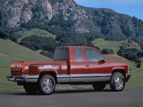 1995 chevrolet 1500 extended cab Exterior
