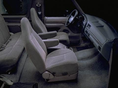 1995 ford bronco Interior