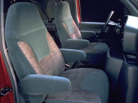1995 ford club wagon Interior