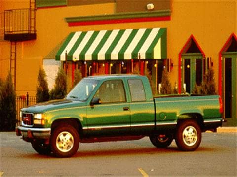 1995 gmc 1500 club coupe Exterior