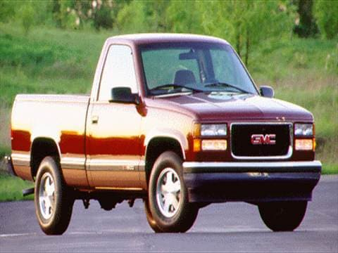 1995 gmc 1500 regular cab Exterior