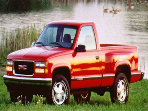 1995 gmc 2500 regular cab Exterior