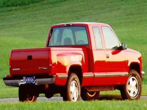 1995 gmc 3500 club coupe Exterior