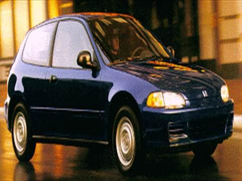 1995 Honda Civic Pricing Ratings Reviews Kelley Blue Book