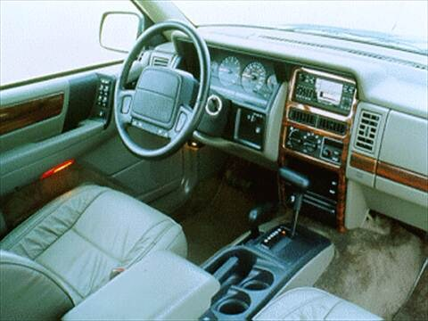 ... 1995 Jeep Grand Cherokee Interior
