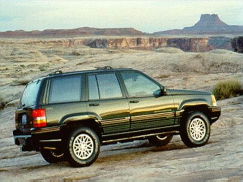 1995 Jeep Grand Cherokee Orvis Sport Utility 4D  photo