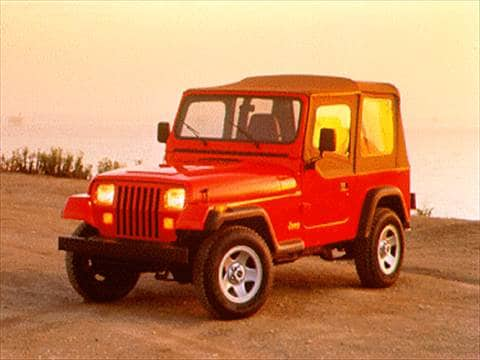 1995 Jeep Wrangler. 17 MPG Combined