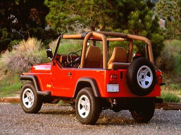 1995 Jeep Wrangler | Pricing, Ratings & Reviews | Kelley Blue Book