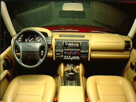1995 land rover discovery Interior