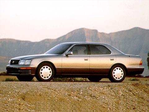 1995 Lexus Ls Pricing Ratings Amp Reviews Kelley Blue Book