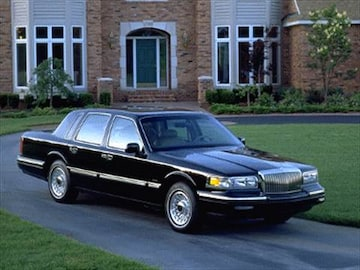 1995 lincoln town car pricing ratings reviews kelley blue book. Black Bedroom Furniture Sets. Home Design Ideas