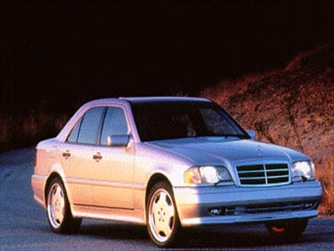 1995 mercedes benz c class pricing ratings reviews for Mercedes benz blue book value