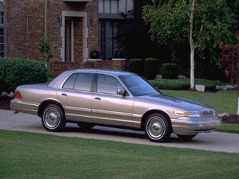 1995 mercury grand marquis Exterior