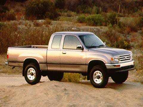 1995 toyota t100 xtracab pricing ratings reviews kelley blue book rh kbb com toyota t100 pickup truck for sale by owner 1996 toyota t100 pickup truck