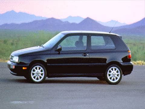 1995 Volkswagen GTI VR6 Coupe 2D  photo
