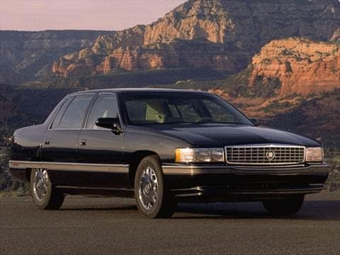 1996 Cadillac Deville Concours Sedan 4d Pictures And