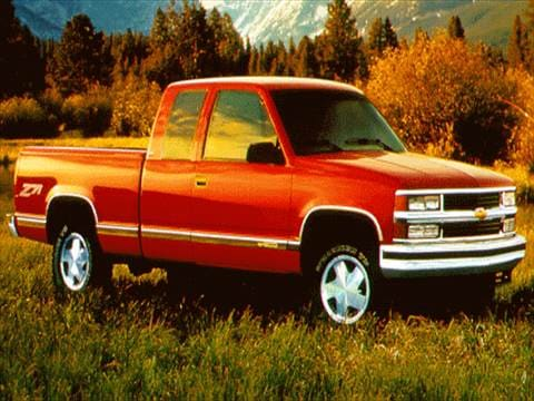 1996 chevrolet 1500 extended cab pricing ratings. Black Bedroom Furniture Sets. Home Design Ideas