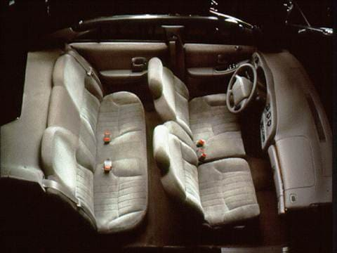 1996 chevrolet lumina Interior