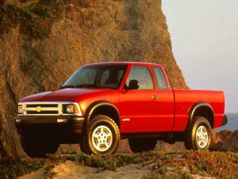 1996 chevrolet s10 extended cab Exterior