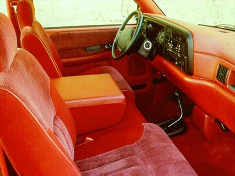 1996 dodge ram 3500 club cab Interior