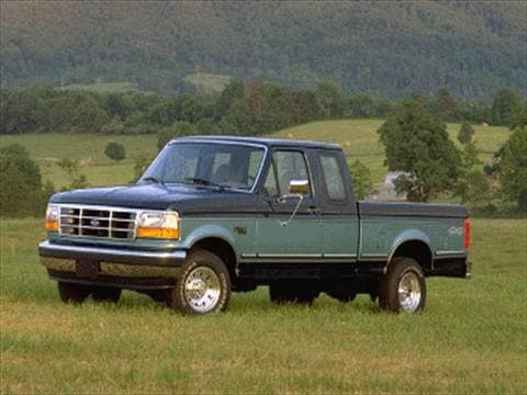 1996 Ford F150 Super Cab Short Bed  photo